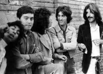 Rafael Amador, José Lagares, Raimundo, El Tacita y Kiko